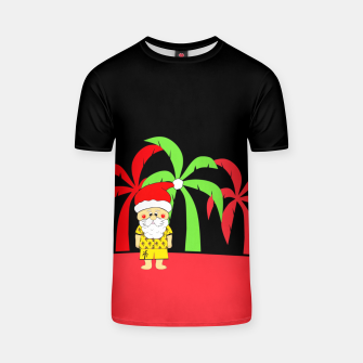 Miniatur Tropical Christmas T-shirt, Live Heroes