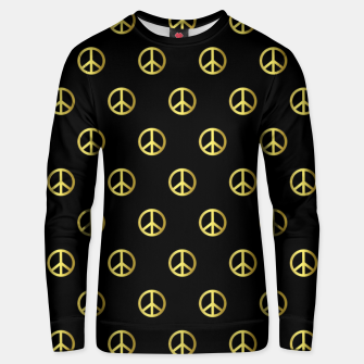 Thumbnail image of Gold Peace Unisex sweater, Live Heroes