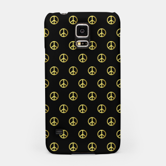 Thumbnail image of Gold Peace Samsung Case, Live Heroes