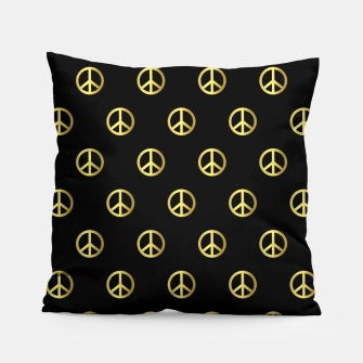 Miniatur Gold Peace Pillow, Live Heroes