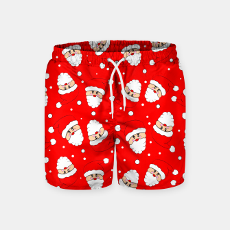 Thumbnail image of Whirling Santa Swim Shorts, Live Heroes