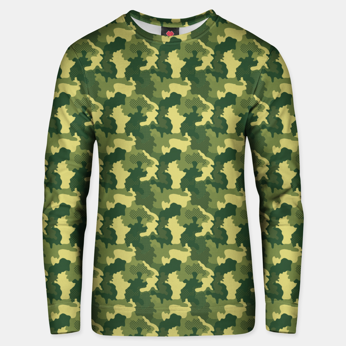 Foto Camouflage I Unisex sweater - Live Heroes