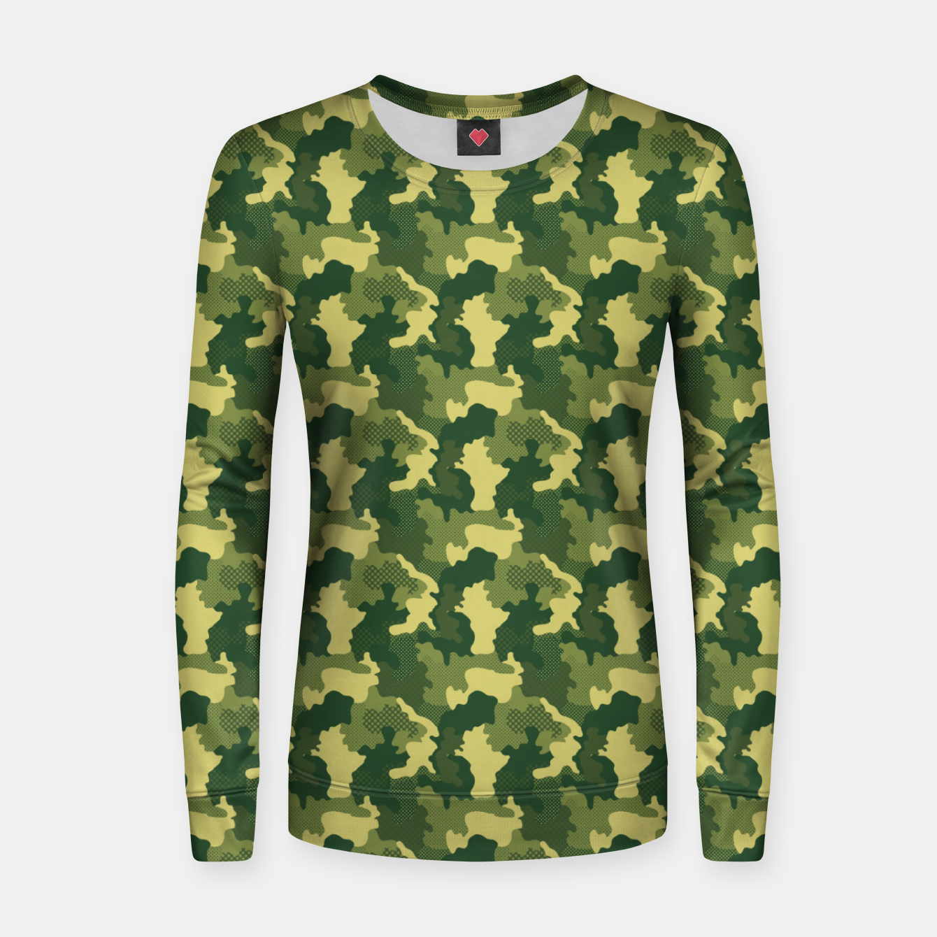 Foto Camouflage I Women sweater - Live Heroes