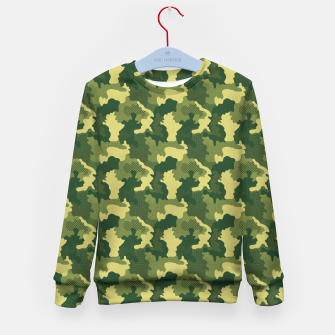 Thumbnail image of Camouflage I Kid's sweater, Live Heroes