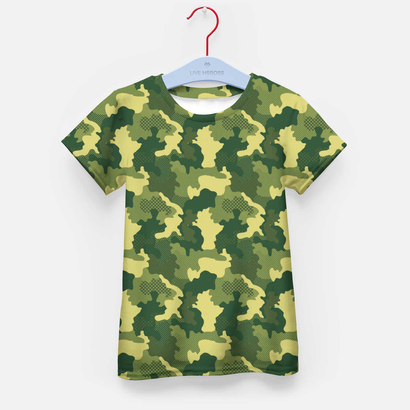 Foto Camouflage I Kid's t-shirt - Live Heroes