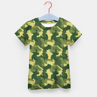 Miniatur Camouflage I Kid's t-shirt, Live Heroes