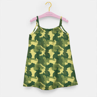 Camouflage I Girl's dress obraz miniatury