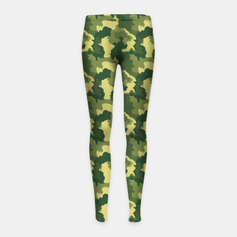 Thumbnail image of Camouflage I Girl's leggings, Live Heroes