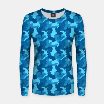 Thumbnail image of Camouflage II Women sweater, Live Heroes