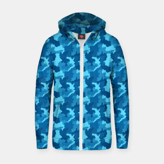 Thumbnail image of Camouflage II Zip up hoodie, Live Heroes