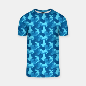 Miniatur Camouflage II T-shirt, Live Heroes