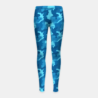 Thumbnail image of Camouflage II Girl's leggings, Live Heroes