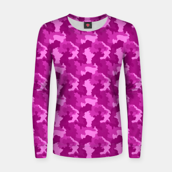 Thumbnail image of Camouflage III Women sweater, Live Heroes