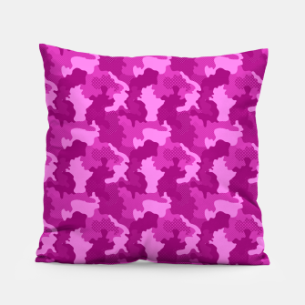 Miniatur Camouflage III Pillow, Live Heroes