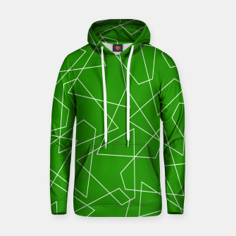 Imagen en miniatura de Abstract geometric pattern - green and white. Hoodie, Live Heroes