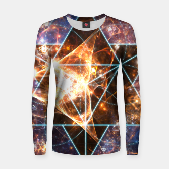 Thumbnail image of Sacred Space Adventures 3 Women sweater, Live Heroes