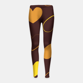 Thumbnail image of Vintage combination 2-3 Leggings para niña, Live Heroes