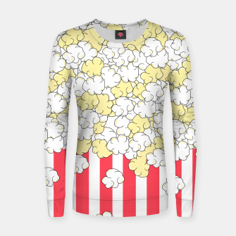 Thumbnail image of Buttered Popcorn Women sweater, Live Heroes