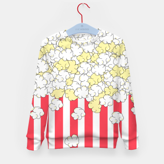 Thumbnail image of Buttered Popcorn Kid's sweater, Live Heroes