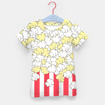 Thumbnail image of Buttered Popcorn Kid's t-shirt, Live Heroes