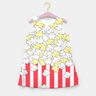 Thumbnail image of Buttered Popcorn Girl's summer dress, Live Heroes