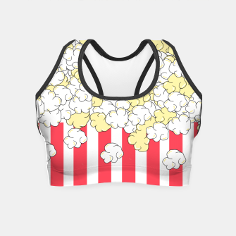 Thumbnail image of Buttered Popcorn Crop Top, Live Heroes