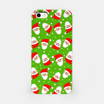 Thumbnail image of Whirling Santa Green iPhone Case, Live Heroes