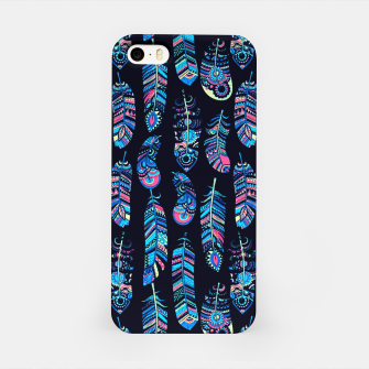 Thumbnail image of Boho Feathers Pattern iPhone Case, Live Heroes