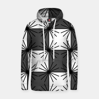 Thumbnail image of Abstract geometric pattern - gray and white. Hoodie, Live Heroes
