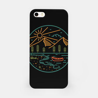 Miniature de image de Nature Lake iPhone Case, Live Heroes