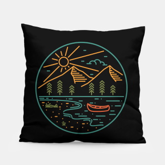 Miniatur Nature Lake Pillow, Live Heroes