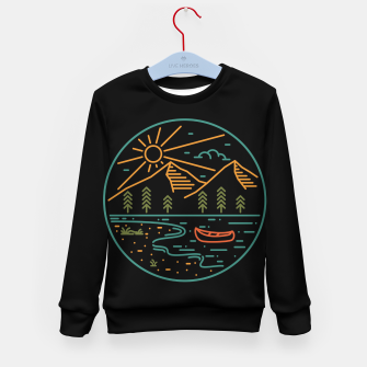 Miniature de image de Nature Lake Kid's sweater, Live Heroes