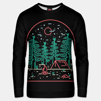 Miniatur Camping Unisex sweater, Live Heroes