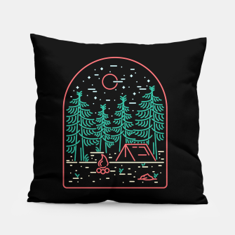 Miniatur Camping Pillow, Live Heroes
