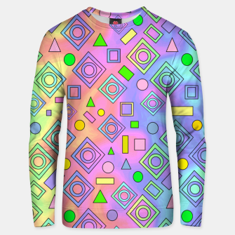 Thumbnail image of Free Spirit Geometric Unisex sweater, Live Heroes