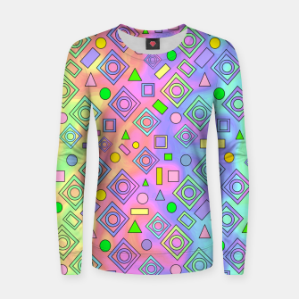 Thumbnail image of Free Spirit Geometric Women sweater, Live Heroes