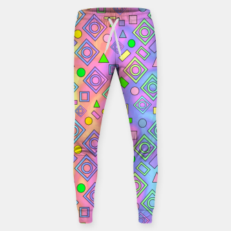 Thumbnail image of Free Spirit Geometric Sweatpants, Live Heroes