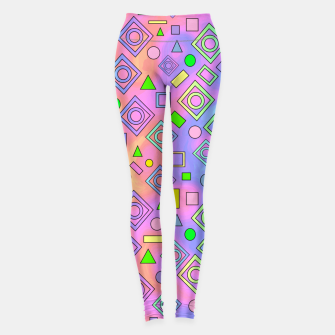 Thumbnail image of Free Spirit Geometric Leggings, Live Heroes