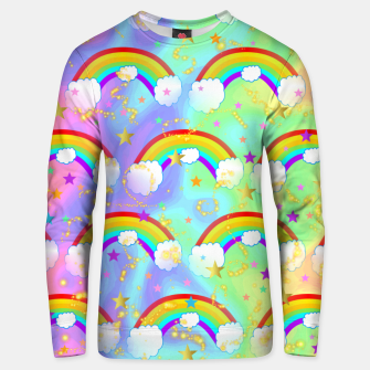 Miniatur Dreaming Of Rainbows Unisex sweater, Live Heroes