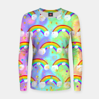 Miniature de image de Dreaming Of Rainbows Women sweater, Live Heroes