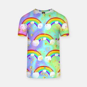 Miniature de image de Dreaming Of Rainbows T-shirt, Live Heroes