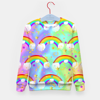 Miniature de image de Dreaming Of Rainbows Kid's sweater, Live Heroes