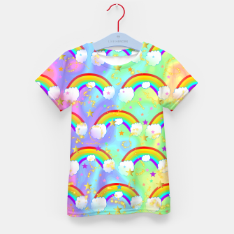 Miniature de image de Dreaming Of Rainbows Kid's t-shirt, Live Heroes