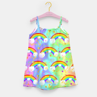 Miniature de image de Dreaming Of Rainbows Girl's dress, Live Heroes