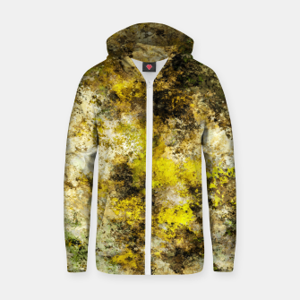 Finding yellow rocks Zip up hoodie thumbnail image
