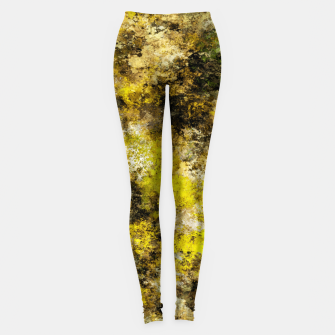Miniatur Finding yellow rocks Leggings, Live Heroes
