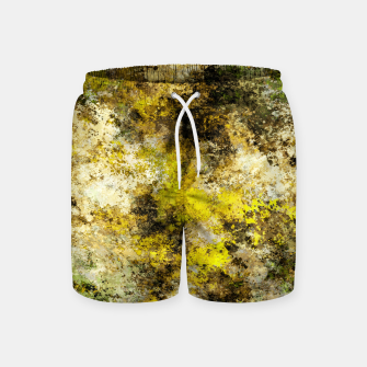 Finding yellow rocks Swim Shorts thumbnail image