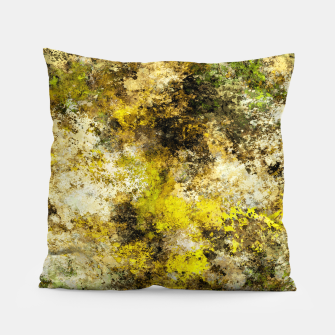 Finding yellow rocks Pillow thumbnail image