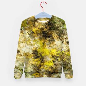 Finding yellow rocks Kid's sweater thumbnail image
