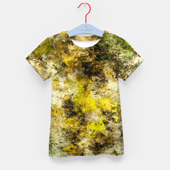 Thumbnail image of Finding yellow rocks Kid's t-shirt, Live Heroes